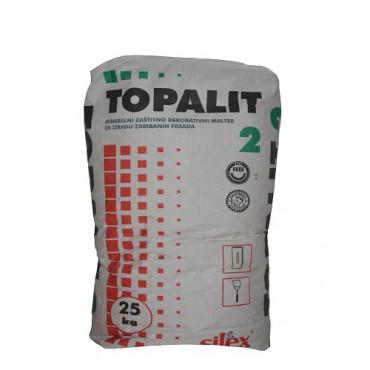 opalit 2 (Bavalit) prskani fasadni malter, Boje-lakovi